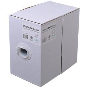 Wbox Cat 5 24/4 UTP Plenum 1000ft. Cable Box