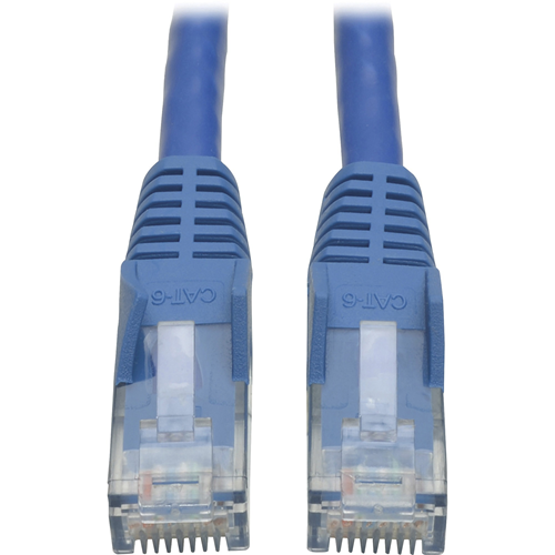 7-ft. Cat6 Blue Gigabit Patch Cord Snagless Molded