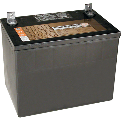 BATTERY 98-121 USE W/ALL APS MODELS 12V 75AH