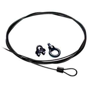 BLK 10FT CABLE & CLAMP