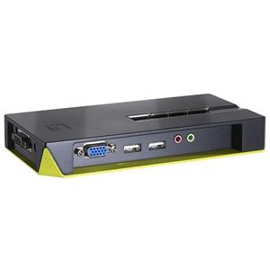 CP TECH LevelOne KVM-0421 4-Port USB KVM Switch