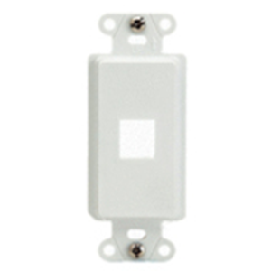 """Decorator Strap 1-Port, Wht"""