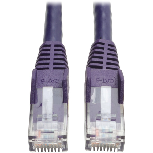 Tripp Lite - Patch cable - RJ-45 (M) - RJ-45 (M) - 91 cm - UTP - ( CAT 6 ) - purple