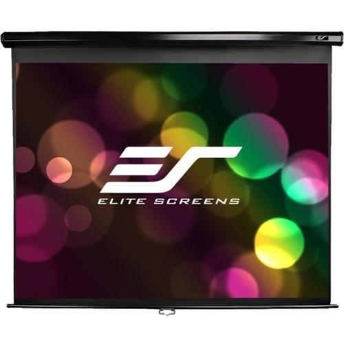 """Elite Screens Manual M135UWV2 135"""" Manual Projection Screen"""