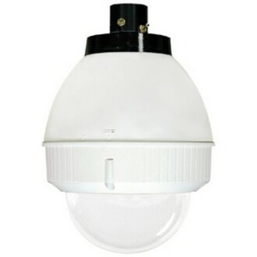 IP NTWK READY 7IN OUTDR DOME HSG W/PENDANT MOUNT