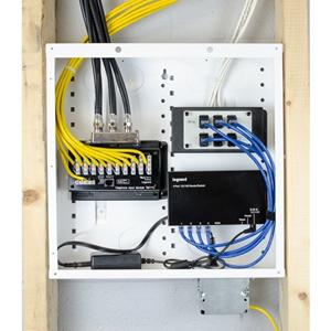 Legrand-On-Q EN1400 Telecom Line Distribution Module/Enclosure