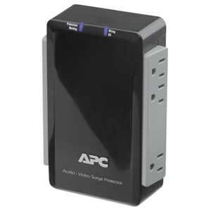 APC P6V 6-Outlets Surge Suppressor