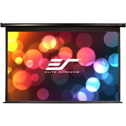 "Elite Screens Spectrum ELECTRIC128X 128"" Electric Projection Screen"