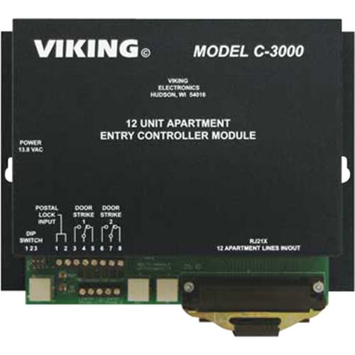 Viking Electronics C-3000 Apartment Entry Control Module