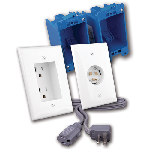 Vanco (RL125024-WH) Power Receptacles