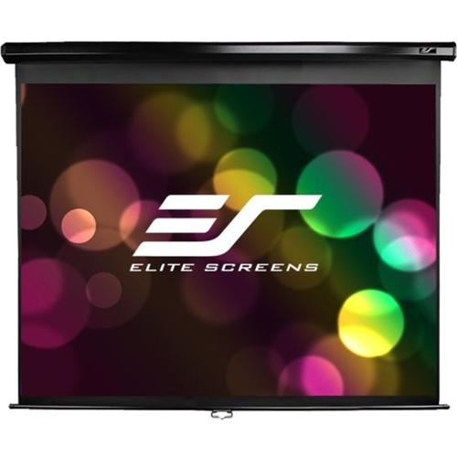 "Elite Screens Manual M135UWH2 135"" Manual Projection Screen"