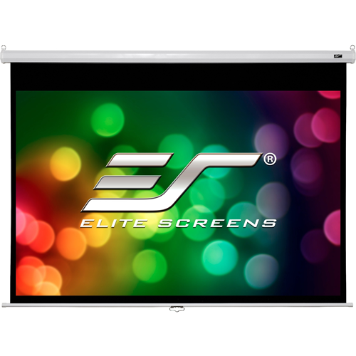 "Elite Screens Manual M99NWS1-SRM 99"" Manual Projection Screen"