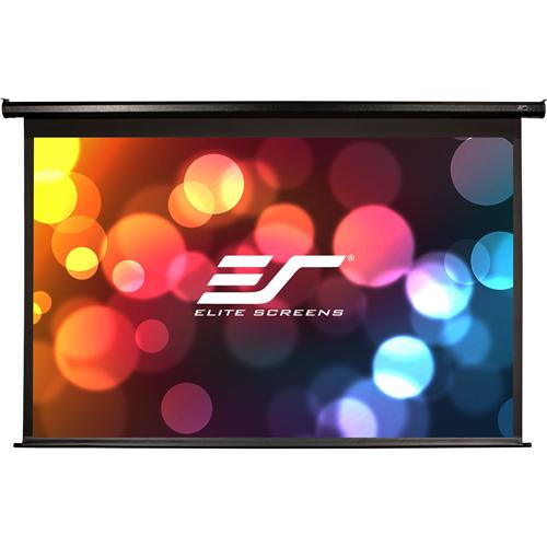 """Elite Screens VMAX2 VMAX92UWH2-E30 92"""" Electric Projection Screen"""
