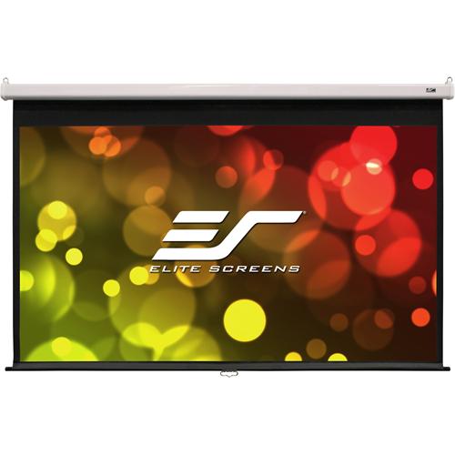 "Elite Screens SRM Pro M100HSR-PRO 100"" Manual Projection Screen"