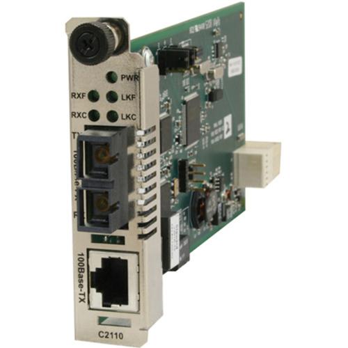 Transition Networks C2110-1040 Fast Ethernet Media Converter