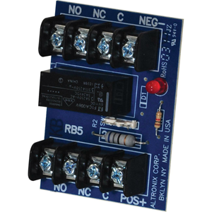 RELAY BOARD, 6 OR 12 V