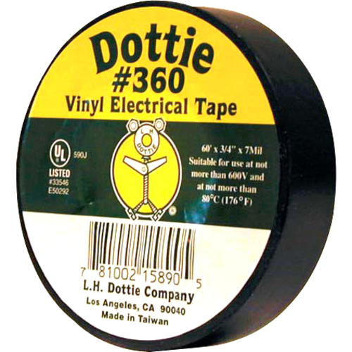 Dottie PC 5350 Economy PVC Tape