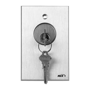 KEY SWITCH MAINT/MOM WITH LED