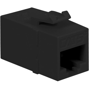 CAT5E COUPLER BLACK INSERT