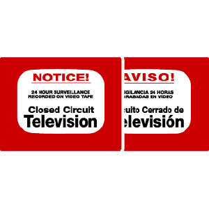 Maxwell DTV-202 Caution Sign