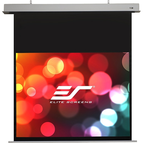 "Elite Screens Evanesce IHOME90HW2-E24 90"" Electric Projection Screen"