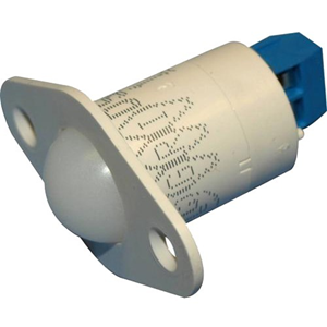 """3/4"""" DOME SWITCH -TERM-WHT"""