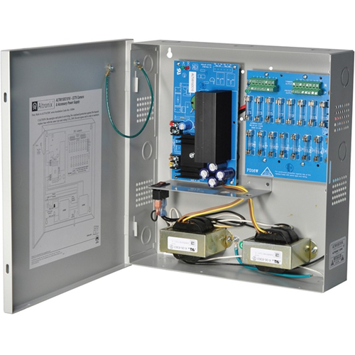 6/15VDC 10AMP W/FUSES & BUILT IN POWER CORD