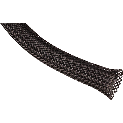 BLACK PET WIRE BRAIDED WRAP 1 IN. DIA. 65