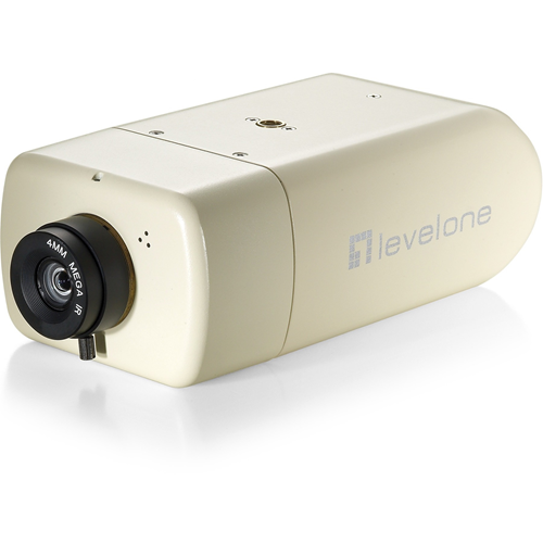 LevelOne H.264 2-Mega Pixel FCS-1131 10/100 Mbps PoE IP Network Camera w/SD/SDHC Card Slot