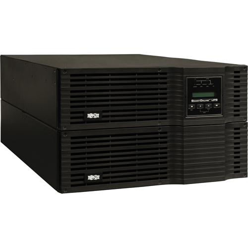 Tripp Lite SmartOnline 6kVA On-Line Double-Conversion UPS, 6U Rack/Tower, 200-240V Hardwire Output