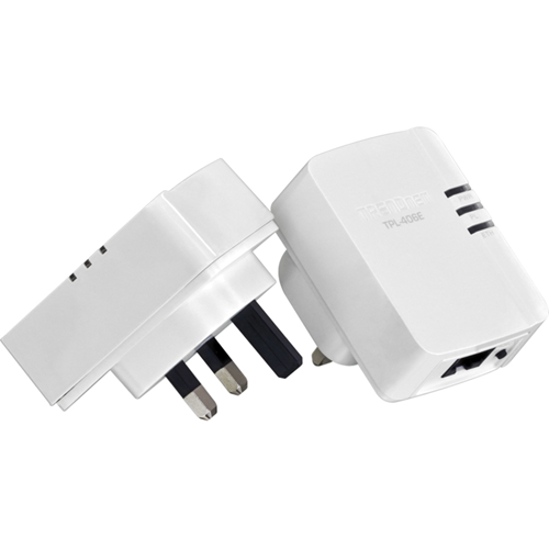 TPL-406E2K RJ45 500MBPS COMPACT POWERLINE AV ADAPTER KIT