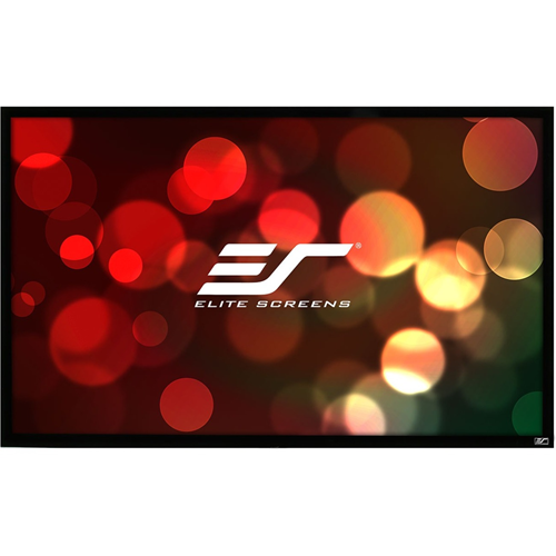 """Elite Screens ezFrame R100WH1-A1080P3 100"""" Fixed Frame Projection Screen"""