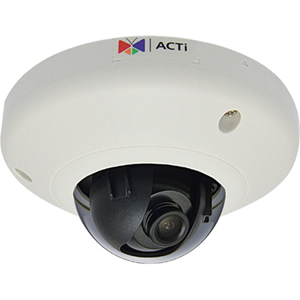 5MP Indoor Mini Dome with Basic WDR, Fixed lens, f1.9mm/F1.9, H.264, 1080p/30fps