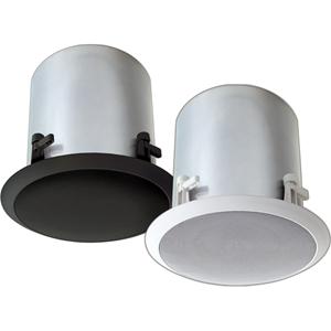 Bogen HFCS1B 2-way Ceiling Mountable Speaker - 32 W RMS - Black