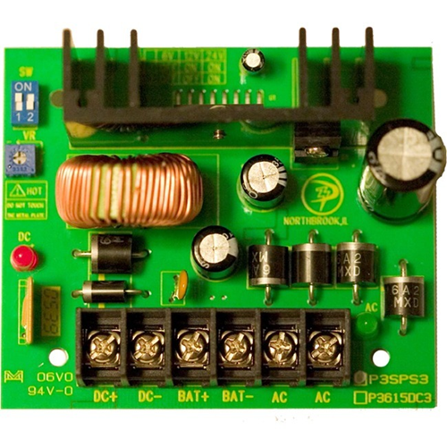 6,12 OR 24VDC,3AMP POWER SUPPLY BOARD