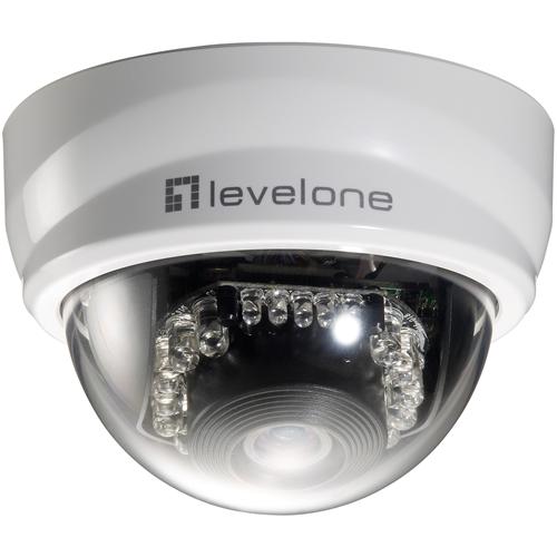LEVELONE H.264 2MEGA PIXEL   FCS-3101 10/100 MBPS POE IP CAMERA
