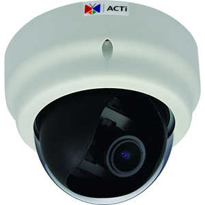E67 2MP Indoor IP Dome Camera with SLLS & 2.8 to 12mm Varifocal Lens