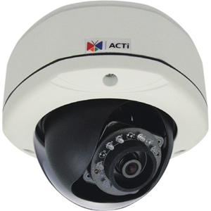 D72A 3MP IR Day/Night IP Outdoor Dome Camera with 2-Way Audio Support and 2.93mm Fixed Lens