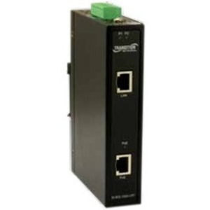Transition Networks Hardened 1-port Mid-span PoE+ Injector