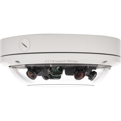 SurroundVideo AV12176DN 12MP WDR H.264 All-in-One Omni-Directional User-Configurable Multi-Sensor Day/Night Indoor/Outdoor Dome IP Camera (No Lens)