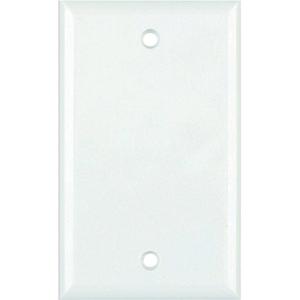 DataComm 21-0026 Standard Blank Wall Plate (White)