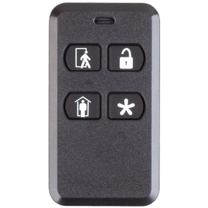 2GIG 4-Button Key Ring Remote - 4 Buttons - 345 MHz