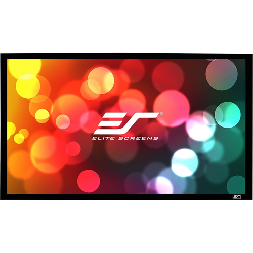 "Elite Screens SableFrame ER100WH1-A1080P3 100"" Fixed Frame Projection Screen"