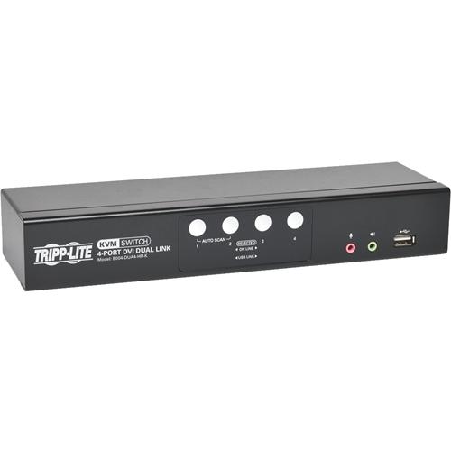Tripp Lite (B004-DUA4-HR-K) KVM Switchbox