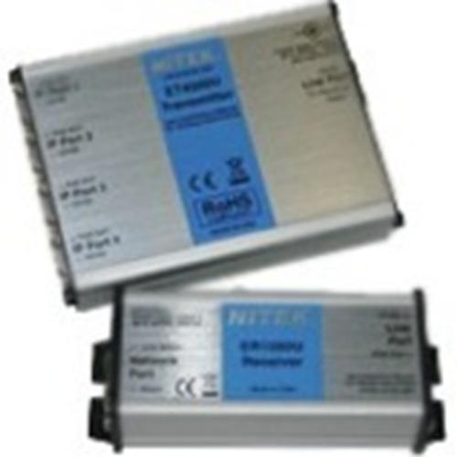 4 Port IP & Ethernet Extender For Use W/Cat UTP Cb