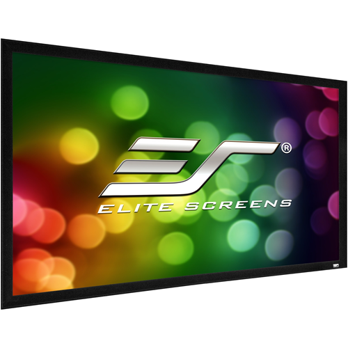 """Elite Screens ezFrame 2 R110WH2 110"""" Fixed Frame Projection Screen"""