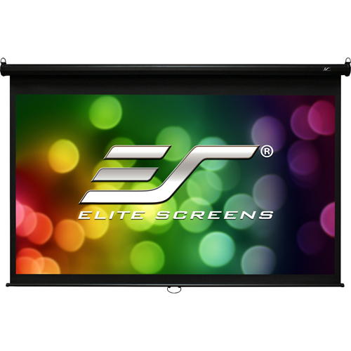 "Elite Screens Manual M120H 120"" Manual Projection Screen"