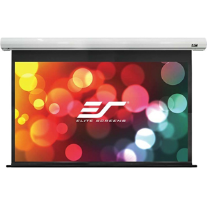 "Elite Screens Saker SK110XHW-E24 110"" Electric Projection Screen"