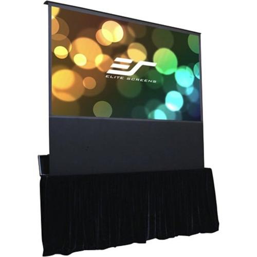 "Elite Screens Kestrel Stage FE125X-TC 125"" Electric Projection Screen"