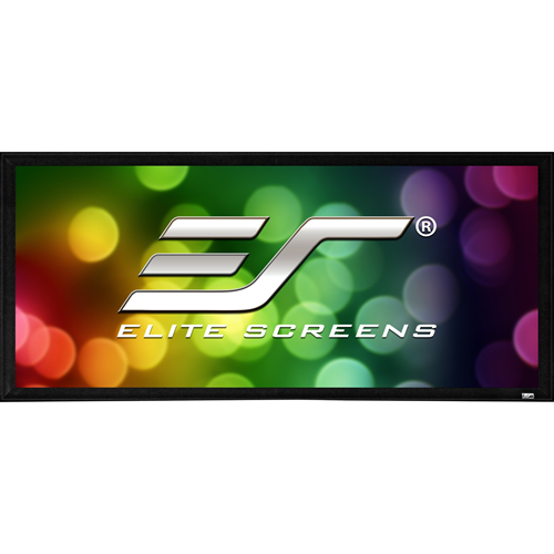 "Elite Screens SableFrame ER110WH2 110"" Fixed Frame Projection Screen"